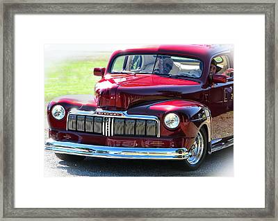 Ford Mercury Eight Framed Print by Rory Sagner