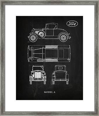 Ford Model A Framed Print