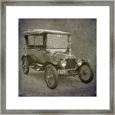 Ford Model T Framed Print by Angie Vogel