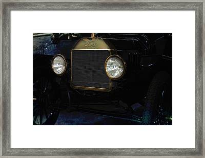 Ford Model T Framed Print by Gunter Nezhoda