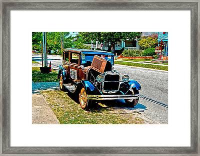 Ford Model T Framed Print