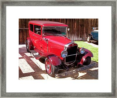 Ford Model T Tudor Sedan Framed Print by Glenn McCarthy Art and Photography