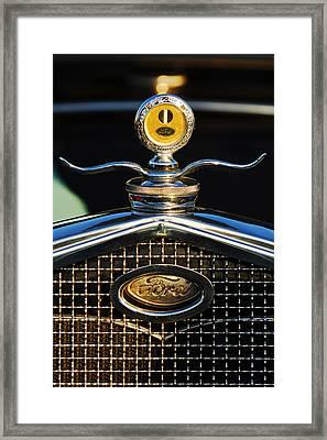 Ford Motometer Framed Print
