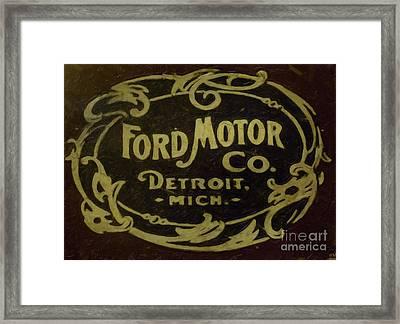 Ford Motor Company Framed Print