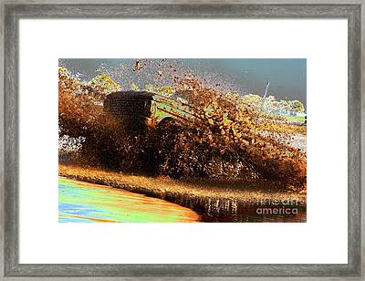 Ford Mudder Framed Print