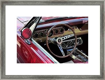 Ford Mustang Framed Print by Andres LaBrada