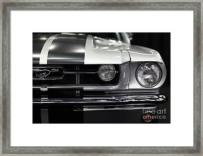Ford Mustang Fastback - 5d20342 Framed Print by Wingsdomain Art and Photography