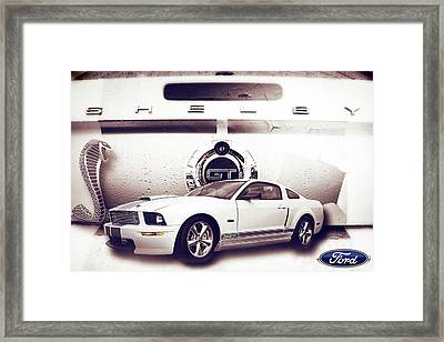 Ford Mustang Shelby Gt  Framed Print