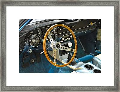 Ford Mustang Shelby Framed Print