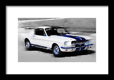 Classic Mustang Framed Prints
