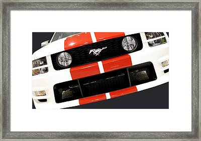 Ford Mustang - This Pony Is Always In Style Framed Print by Christine Till