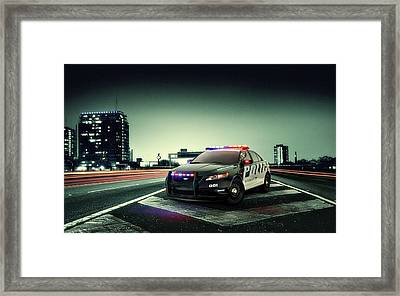 Ford Police Interceptor Framed Print by Movie Poster Prints