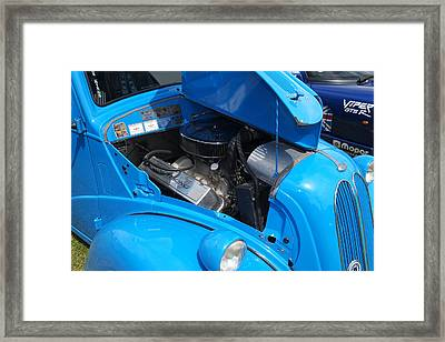 Ford Popular Hot Rod Framed Print by Adrian Beese