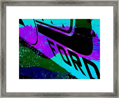 Ford Racing  Framed Print by Naxart Studio