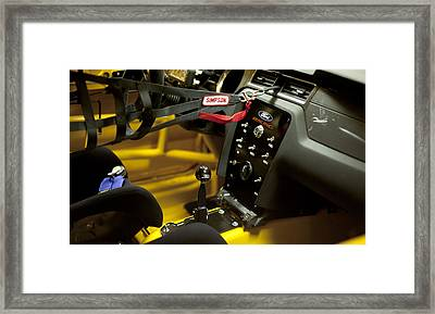 Ford Racing Framed Print by Peter Chilelli