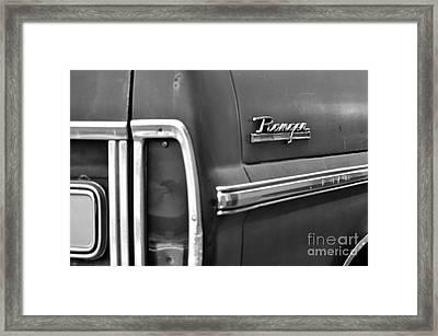 Ford Ranger Framed Print by Andres LaBrada