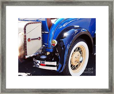 Ford Roadster Framed Print