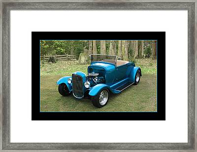 Framed Print featuring the photograph Ford Roadster by Keith Hawley
