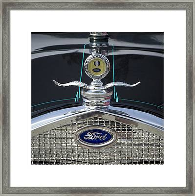 Ford Framed Print by Ron Roberts