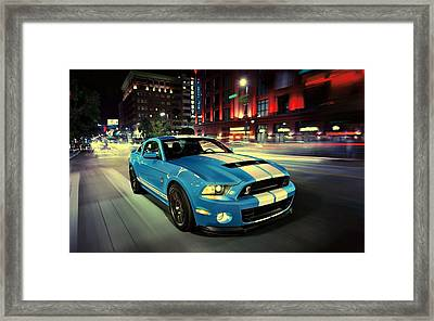 Ford Shelby Gt500 2014 Framed Print by Movie Poster Prints