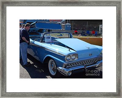 Ford Skyliner Framed Print