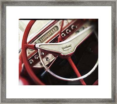 Ford Sunliner Framed Print by Bradley R Youngberg
