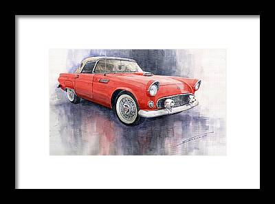 Old Car Framed Prints