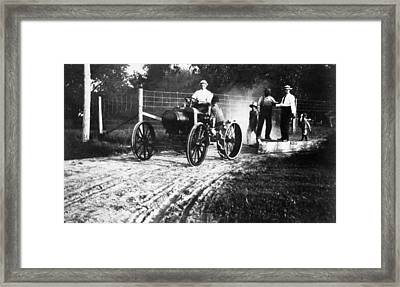 Ford Tractor, 1918 Framed Print by Granger