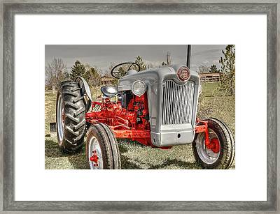 Ford Tractor Framed Print by Peter SPAGNUOLO