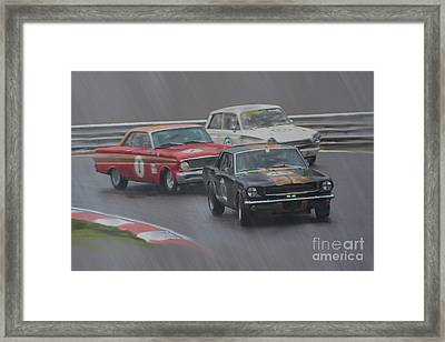 Ford Trio Framed Print