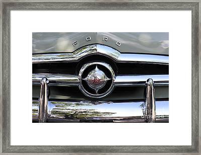 Ford V8 1949 - Vintage Framed Print