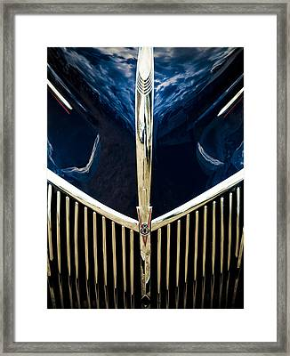 Ford V8 Grill Framed Print by Phil 'motography' Clark
