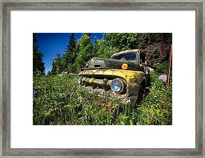 Fords View Framed Print by Ed Boudreau