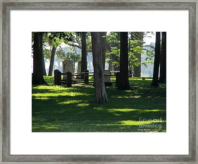Fore Fathers Framed Print by Greg Patzer