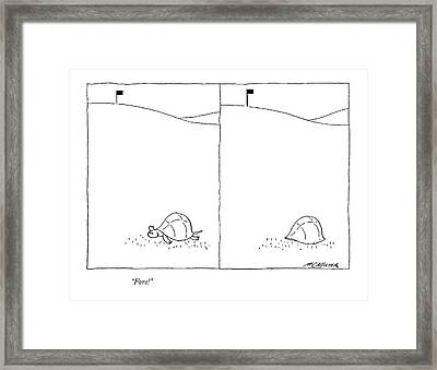 Fore! Framed Print by Richard McCallister