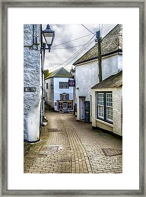 Fore Street Port Isaac Framed Print