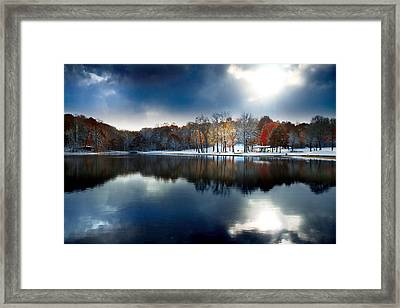 Foreboding Beauty Framed Print