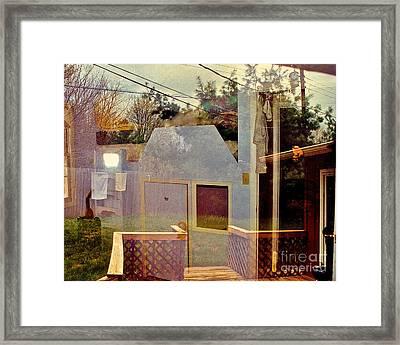 Foreclose This   I Dare U Framed Print