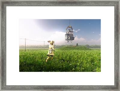 Foreclosure Framed Print by Cynthia Decker