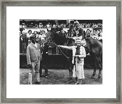 Forego Horse Racing Vintage #1 Framed Print by Retro Images Archive