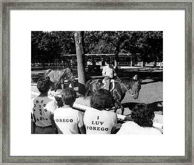 Forego Horse Racing Vintage #2 Framed Print by Retro Images Archive