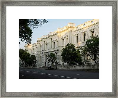 Foreign Affairs Ministry Building Framed Print by Panoramic Images