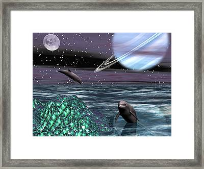 Foreign Shores Framed Print