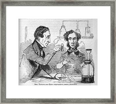 Forensic Toxicologists Framed Print by National Library Of Medicine