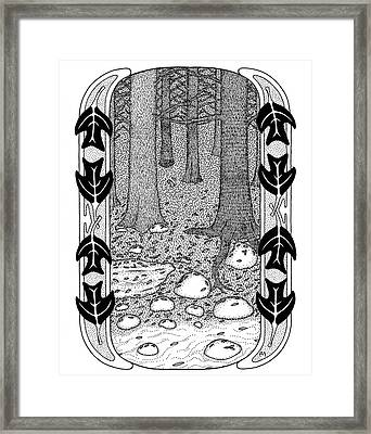 Forest And Stream Framed Print