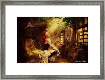 Forest Angel  Framed Print