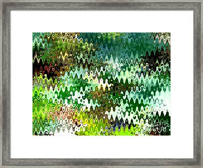 Forest Framed Print by Anita Lewis