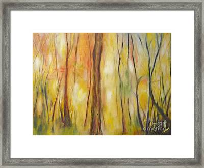 Forest Awakening Framed Print