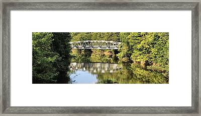 Forest Bridge Framed Print