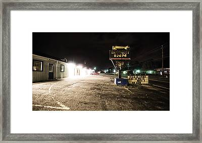 Forest City North Carolina Framed Print by Sean Weaver